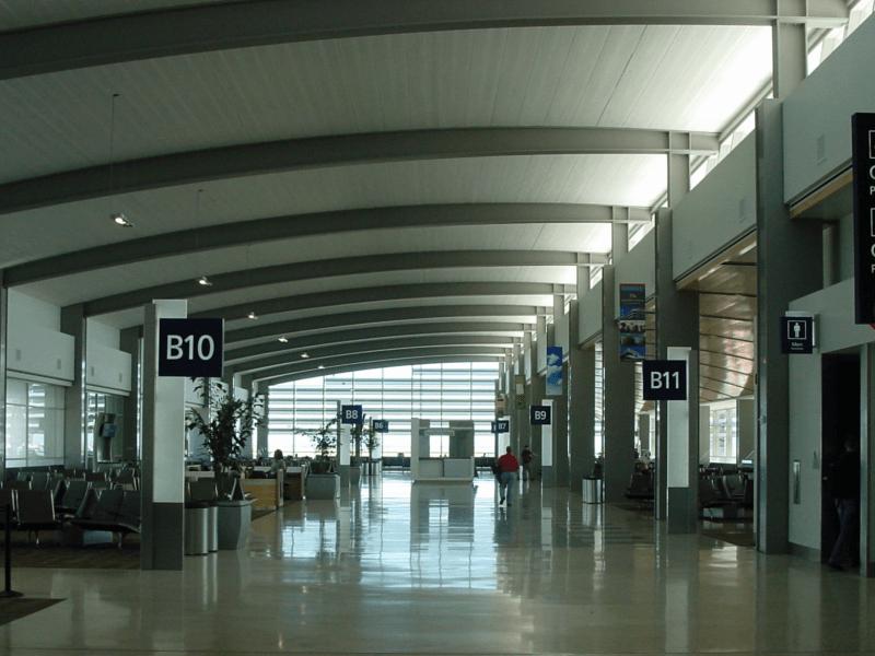 Sacramento Airport terminal gates