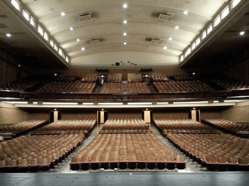 Wyandotte High School auditorium renovation