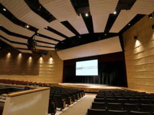 Fort Riley Middle School theater acoustics