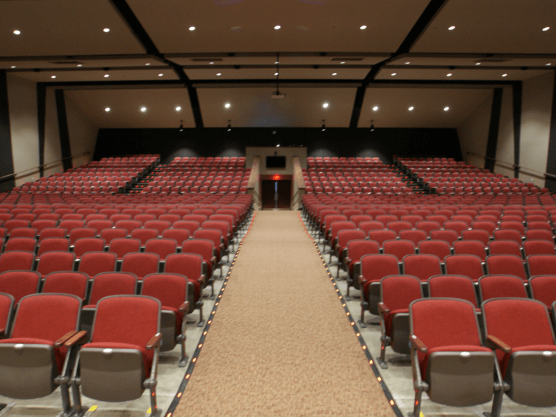 Heber Springs HS Auditorium Acoustics