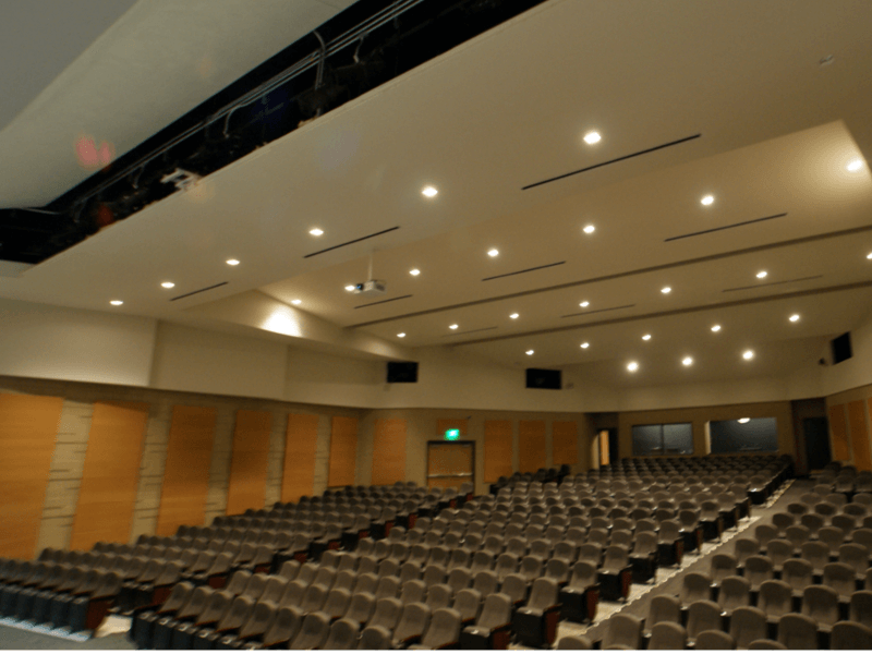 Bonner Springs High School Theater Acoustics