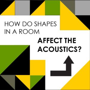 How shapes in architecture affect room acoustics