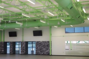 Excelsior Springs Community Center AV flatscreen tvs
