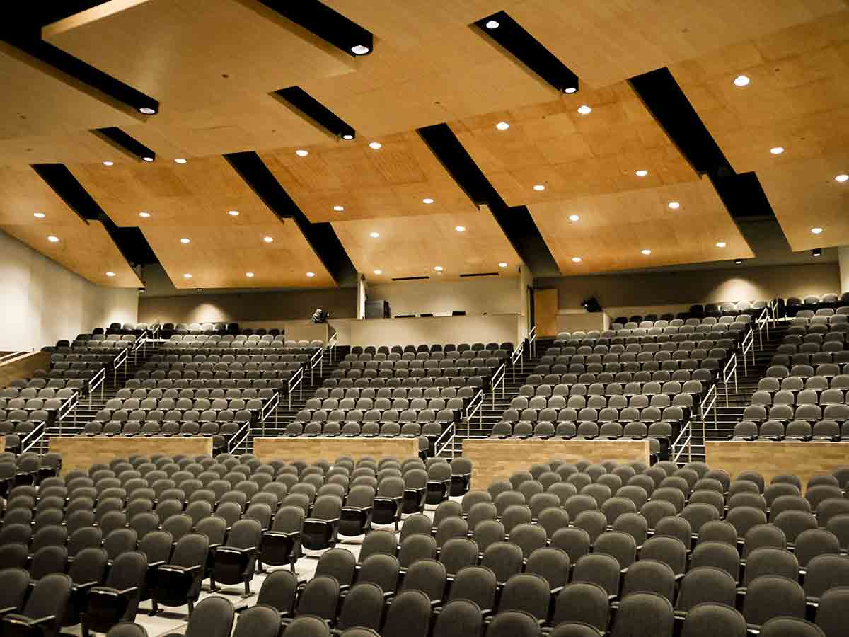 Wichita Southeast High School auditorium