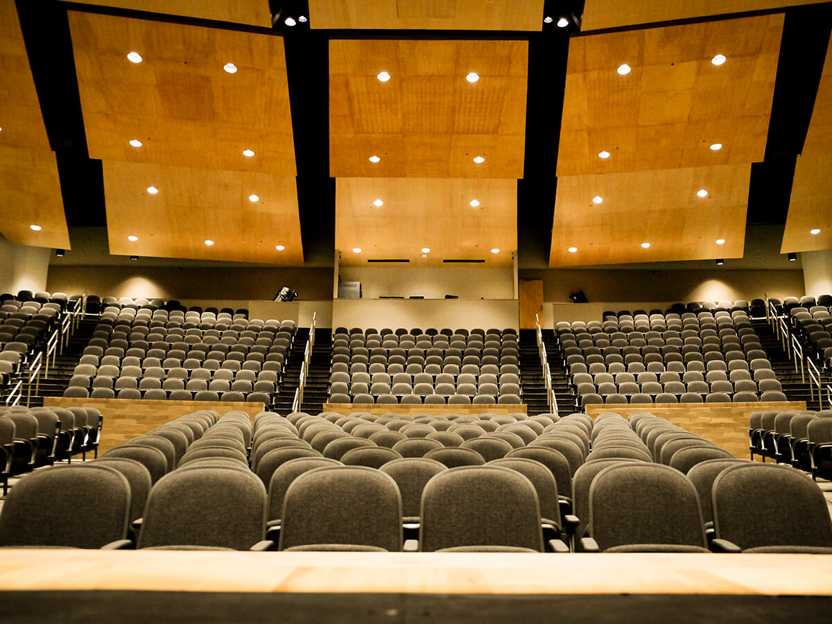 Wichita Southeast High School Auditorium Audience View