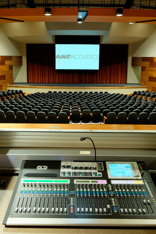 Digital Mixing Console at Abilene High School