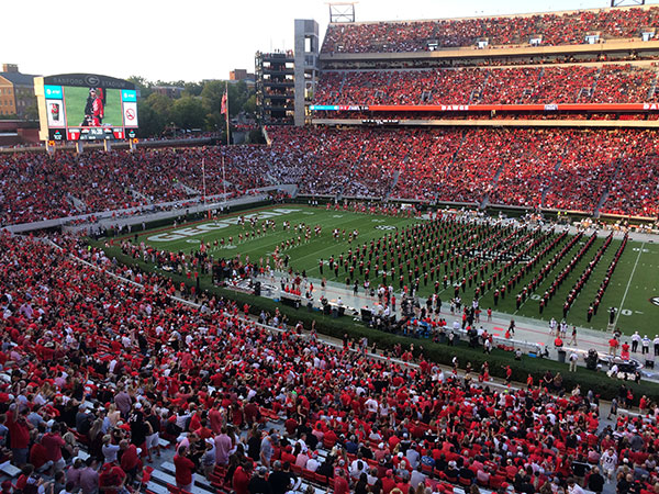 University of Georgia Sanford Stadium