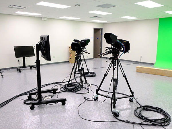 Maize Career Academy Broadcast Studio