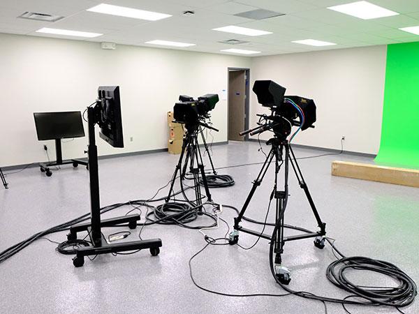 Maize Career Academy Broadcast Studio